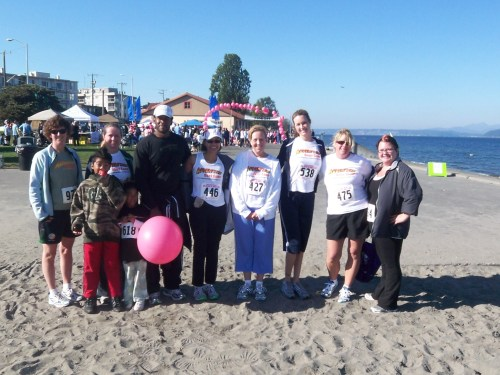 Alki Beach Run for Breast Cancer