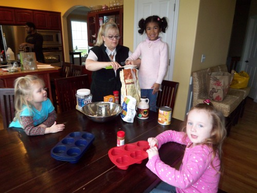 Let your kids help in the kitchen.  Start them at a young age and they will be less likely to be pickey eaters.